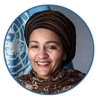 Amina J. Mohammed, Deputy Secretary-General, United Nations