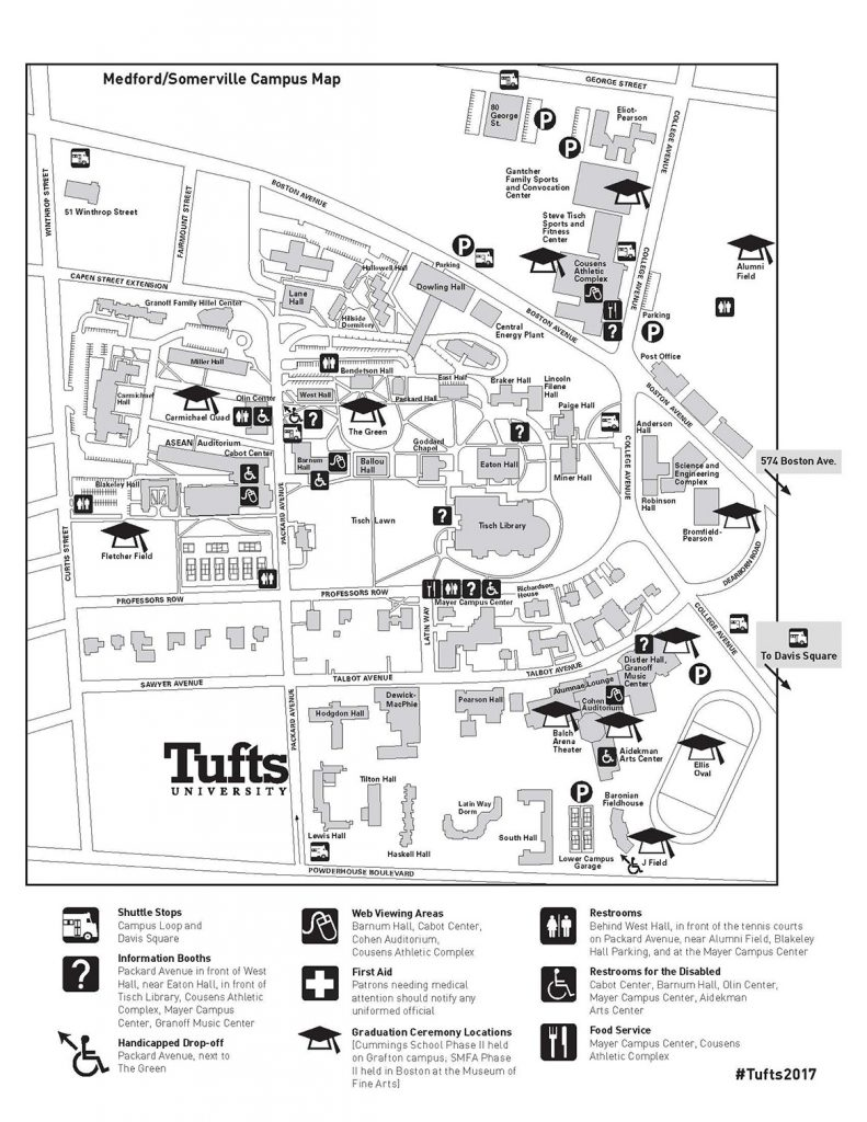 maps and parking mencement