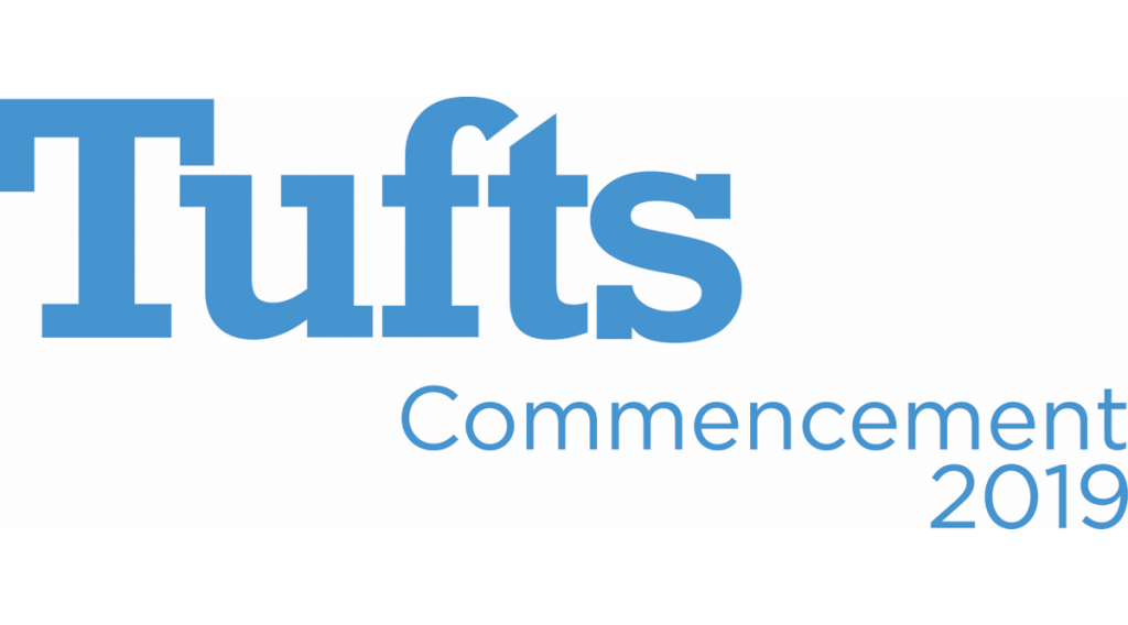 Tufts 2019 Commencement logo